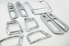 Chrome Interior Molding Kit 9Pcs 1Set For KIA New Sorento R 2013 2014