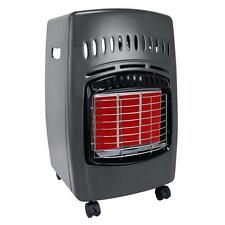Propane Cabinet Space Heater Portable Indoor Gas Utility Shop Wheels Home Garage