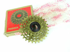 Regina Freewheel Extra ORO BX 5 speed 14-17-20-24-28 ISO Thread Bicycle NOS