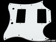 * NEW White PICKGUARD for USA Gibson SG Standard Guitar 3 Ply 11 Hole