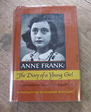 THE DIARY OF A YOUNG GIRL ANNE FRANK - Achterhuis - 1967 1st/later HCDJ - WWII