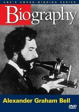 BIOGRAPHY: ALEXANDER GRAHAM BELL (A&E DOCUMENTARY) NEW AND SEALED