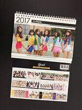 GFriend Kpop 2017 & 2018 K pop GIRL FRIEND Photo Desk Calendar