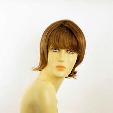 short wig for women brown copper wick light blond ref VALERIA 6bt27b PERUK