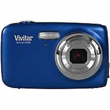 Vivitar Blue Vivicam F126 Digital Camera With 14.1 Megapixels