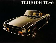 TRIUMPH TR6 WORKSHOP & PARTS MANUALs 550pgs w/ Service Repair Frame & Blueprints