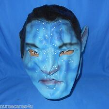AVATAR JAKE SULLY BLUE RUBBER HALLOWEEN CHARACTER  MASK FROM MOVIES ADULTS