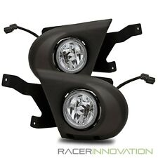 For 03-05 Honda Pilot JDM Clear Fog Lights Driving Bumper Lamp w/ Harness+Switch
