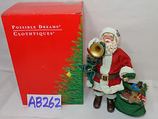 1995 POSSIBLE DREAMS CLOTHTIQUES SANTA CLAUSE  713127 SOUNDS OF CHRISTMAS