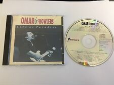 Omar & The Howlers : Live at Paradiso CD (1992)