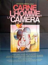 Affiche 120x160cm CARNÉ, L'HOMME À LA CAMÉRA 1985 Marcel Carné, Yves Montand