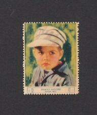 Dickie Moore OUR GANG 1932 Film Star Sticker Stamp