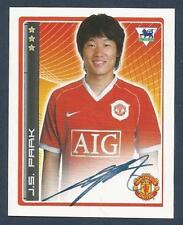 MERLIN-2007-F.A.PREMIER LEAGUE 07- #289-MANCHESTER UNITED & SOUTH KOREA-J S PARK