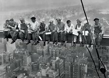 Lunch On A Skyscraper Men On Girder Poster New York  City 91.50x61cm