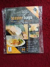 Pk. of 2 Toaster Bags ~ BRAND NEW