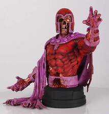 "MARVEL MAGNETO Zombie Gentle Giant Busto Estatua Figura 7"" nuevos X Men"