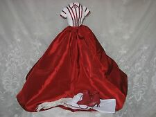 Tonner Scarlett 'Kissing Ashley Goodbye' Red Wht Outfit Only Gone With The Wind