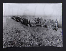 Photo ancienne BRAUD moissonneuse batteuse A2080 tractor tracteur Traktor 9