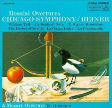 Rossini: Overtures CD NEW