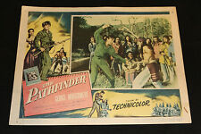 1952 The Pathfinder Lobby Card 53/4 Technicolor George Montgomery (C-3)