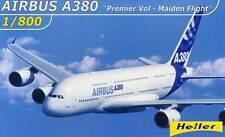 Heller - Airbus A380 Erstflug 27.April 2005 Modell-Bausatz 1:800 NEU OVP