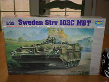SWEDEN Strv 103C MBT S-TANK, Plastic Model Tank Kit, 1/35