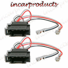 Seat Leon MK1 Speaker Adaptor Plug Leads Cable Connectors