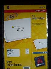AVERY QUICKDRY Inkjet Label J8160 -15 /** 315 LABELS** BRAND NEW / SEALED