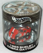 Hot Wheels 2003 100% Oil Can 1965 Shelby Cobra Racing Series - FREE SHIPPING