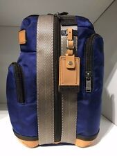 Tumi Alpha Bravo Monterey Sling Backpacks - blue geo