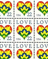 1987 - LOVE - #2248 Full Mint -MNH- Sheet of 100 Postage Stamps