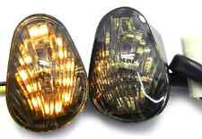 SMOKE LED TURN SIGNALS FLUSH MOUNT INDICATORS FOR 2003-2014 YAMAHA YZF R1 R6 R6S