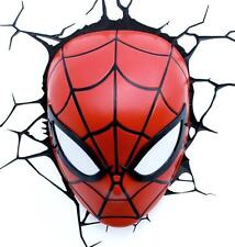 MARVEL SPIDER-MAN 3D DECO LED WALL LIGHT - NIGHT LIGHT BRAND NEW FX