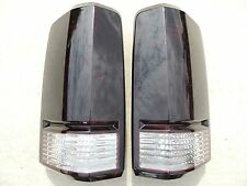 07-11 Dodge NITRO  Smoked Tail Lights Black OEM Tinted non led custom painted