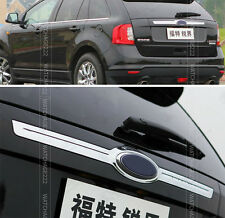FOR 2007-2013 FORD EDGE CHROME REAR TAILGATE TRUNK LID TRIM MOULDING COVER STRIP