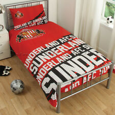 Sunderland F.C.Impact Single Duvet Cover Bedding Set
