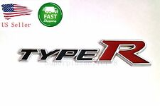Metal Honda Acura 3D Emblem Badge Sticker Decal TYPE R TYPER Civic EE08 Integra