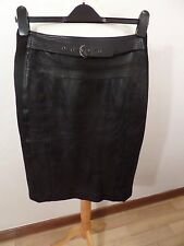 STUNNING LADIES WHISTLES LEATHER SKIRT SIZE UK 10 VGC