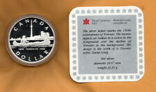 CANADA PROOF 1984 SILVER DOLLAR 150th ANNIVERSARY OF TORONTO IN CAPSULE WITH COA