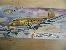VINTAGE AIRFIX KIT 2-98  1/72   DOUGLAS C-47 DAKOTA  ( USA ISSUE )