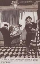 A2141) WW1 SCENE DI FAMIGLIA (CASA SAVOIA) IL NONNO PRESTA AL NIPOTE LA SCIABOLA