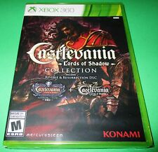 Castlevania Lords Of Shadow Collection Xbox 360  Factory Sealed!  Free Shipping!