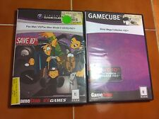 Gamecube games Pac-Man VS and  Sonic Mega Collection GC L@@K FUN