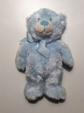 """Ty Classic Bear Sweet Baby My First Teddy 12"""" Blue Plush 2012 No Hang Tag"""