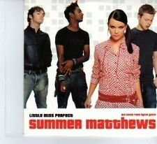 (DF297) Summer Matthews, Little Miss Perfect - 2003 DJ CD