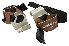 1 Paar Zughilfen, Klimmzughaken, Latzughilfe Leder mit Clip Griffhilfen NEU