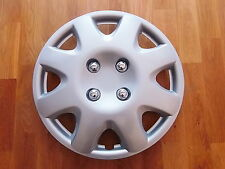 "14"" INCH WHEEL TRIMS Set of 4(PEUGEOT 107,206,PARTNER VAN) SILVER"