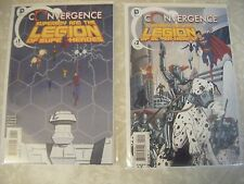 """Convergence Series """"Superboy & the Legion of Super-Heroes"""" Complete 1 & 2, Nice!"""