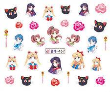 30 Japanese Sailor Moon Decals Popular Water Nail Art Sticker for Nail Polish