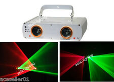 Double head RG laser light for disco bi-color Lazer Show Projector Beam Lasers